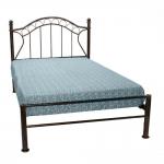 Κρεβάτι Σιδερένιο Μπρονζέ Μονό