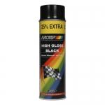 Spray Motip Γενικής Χρήσης 500ml Μαύρο Γυαλιστερό