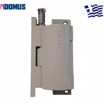 Κλειδαριά Πρόσθετης Ασφάλειας WK+ Γκρι-Ασημί Domus