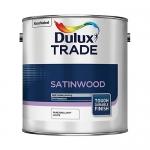 Dulux Trade Satinwood Βερνικόχρωμα Διαλύτου Σατινέ Λευκό 1lt
