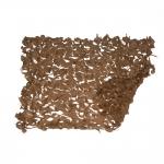 Δίχτυ Παραλλαγής Sand 120gr/m² Μπέζ Άμμου 400x300cm