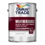 Dulux Trade Weathershield Quick Drying Exterior Undercoat Υπόστρωμα Νερού 1lt