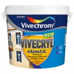 Vivecryl Elastic Eco Λευκό 3lt
