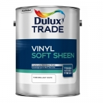 Dulux Trade Vinyl Soft Sheen Πλαστικό Χρώμα Σατινέ Λευκό 5lt