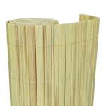 Καλαμωτή PVC 20mm Διπλής Όψης Κίτρινο-Απομίμηση Καλαμιού 200x300cm