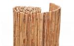 Καλαμωτή Από Λιμνοκάλαμο Μασίφ 6-10mm Με Σύρμα Γαλβανιζέ 100Χ300cm