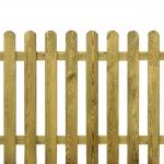 Φράχτης Ίσιας Πλανισμένης Σανίδας 100x180cm