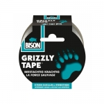 Grizzly Tape Υφασμάτινη Ταινία Ασημί 0.33mmX10m Bison