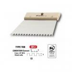Σπάτουλα Πλακάδων Με Τετράγωνο Δόντι 6x6mm 200mm L'Outil Parfait 5621