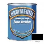 Hammerite Σατινέ Μαύρο 750ml