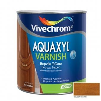 Aquaxyl Varnish Satin 705 Golden Oak Σκούρα Δρυς 750ml