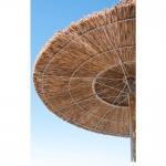 Ομπρέλα Παραλίας Africa Elegant Με Thatch Στεφάνι Ø300cm Ιστός Ø12x400cm