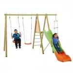 Παιδική Χαρά-Διπλή Κούνια,Τσουλήθρα Καί Ανεμόσκαλα