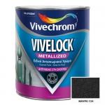 Vivelock Metallized 724 Mαύρο 750ml