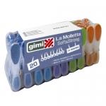 Μανταλάκια Πλαστικά Soft & Strong Gimi