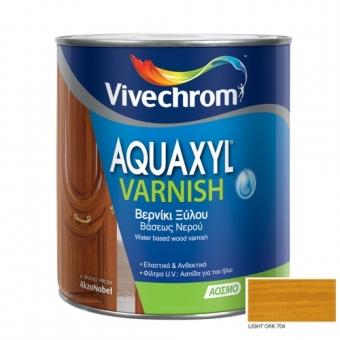 Aquaxyl Varnish Satin 704 Light Oak Ανοιχτή Δρυς 750ml
