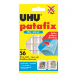 Uhu Patafix Invisible Αυτοκόλλητα 56τμχ