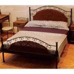 Κρεβάτι Σιδερένιο Με Σχοινί Μπρονζέ Διπλό
