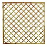Πάνελ Διαγώνιο Καρέ Με Πλαίσιο 180x180cm