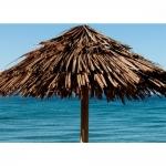 Ομπρέλα Παραλίας Mexiko Με Makuti Στεφάνι Ø350cm Ιστός Ø12x400cm