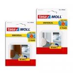Αφρώδες Μονωτικό Υλικό Για Πόρτες Tesamoll Λευκό 38mm X 1m