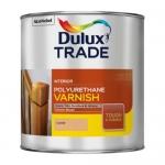 Dulux Trade Polyurethane Varnish Διαφανές Γυαλιστερό Βερνίκι Πολυουρεθάνης 1lt