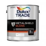 Dulux Trade Metalshield Gloss Finish Βερνικόχρωμα Υψηλής Ποιότητας Γυαλιστερό Λευκό 1lt