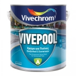 Vivepool Χρώμα Πισίνας Συστατικό Α Θαλασσί 3lt