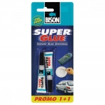 Super Glue Bison 3gr+3gr Δώρο