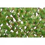 Φυλλωσιά Δίχρωμη Με Ξύλινο Πτυσσόμενο Πλέγμα 100x200cm