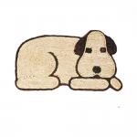 Χαλάκι Εισόδου Ψάθινο Σκύλος