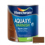 Aquaxyl Varnish Satin 707 Dark Walnut Καρυδιά Σκούρα 750ml