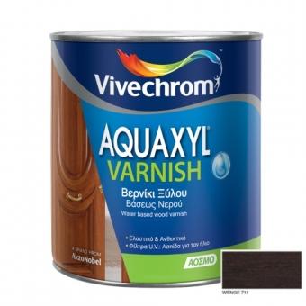 Aquaxyl Varnish Satin 711 Wenge Βέγκε 750ml