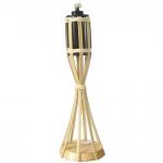 Πυρσός Bamboo Επιτραπέζιος Με Βάση 40cm