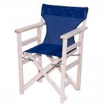 Καρέκλα Σκηνοθέτη Καραβόπανο White Wash