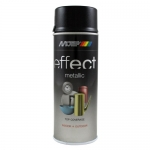 Motip Effect Metallic Black Spray Μεταλλικό Μαύρο 400ml