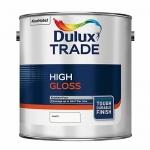 Dulux Trade High Gloss Βερνικόχρωμα Διαλύτου Γυαλιστερό Λευκό 1lt