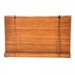 Στόρι Bamboo Roll-Up Καρυδί Μεσαίο