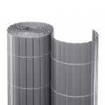 Καλαμωτή PVC 20mm Διπλής Όψης Ανοιχτό Γκρι 100x500cm