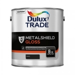 Dulux Trade Metalshield Gloss Finish Βερνικόχρωμα Υψηλής Ποιότητας Γυαλιστερό Μαύρο 2.5lt