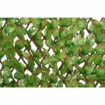 Φυλλωσιά Δίχρωμη Με Ξύλινο Πτυσσόμενο Πλέγμα 100x300cm