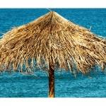 Ομπρέλα Παραλίας Hawai Με Alang-Alang Στεφάνι Ø250cm Ιστός Ø8x300cm