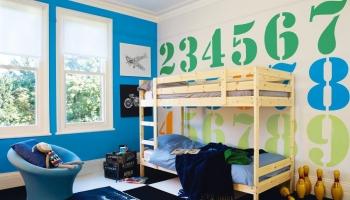 Παιδικό Δωμάτιο Με Αριθμούς