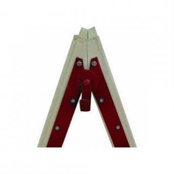 Σκάλα Ξύλινη Ecoalumin 8+8 Σκαλοπάτια