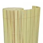 Καλαμωτή PVC 20mm Διπλής Όψης Κίτρινο-Απομίμηση Καλαμιού 200x500cm