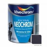 Neochrom Extra 24M Μαύρο Ματ 750ml
