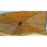 Ομπρέλα Παραλίας Tenerif Απο Rattan 6mm 200x200cm