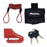 Master Lock Λουκέτο Δισκόφρενου Μεγάλο Με Θήκη Μεταφοράς