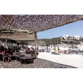 Δίχτυ Παραλλαγής Sand 120gr/m² Μπέζ Άμμου 200x300cm