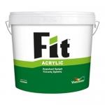 Fit Acrylic Λευκό 3lt